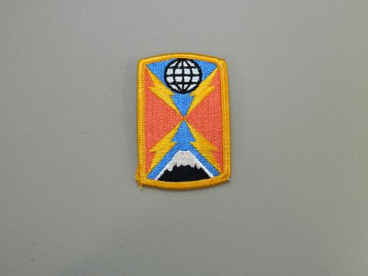 1104th Signal Bde. Color Patch