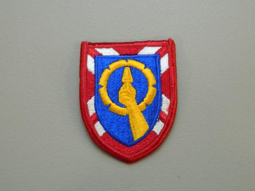 121st Army Reserve Command Color Patch
