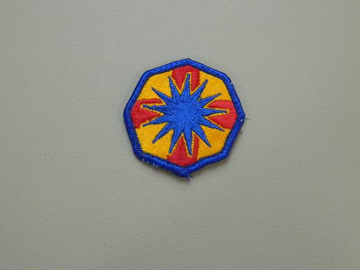 13th Support Brigade Color Patch