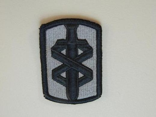 18th Medical Bde. ACU Patch