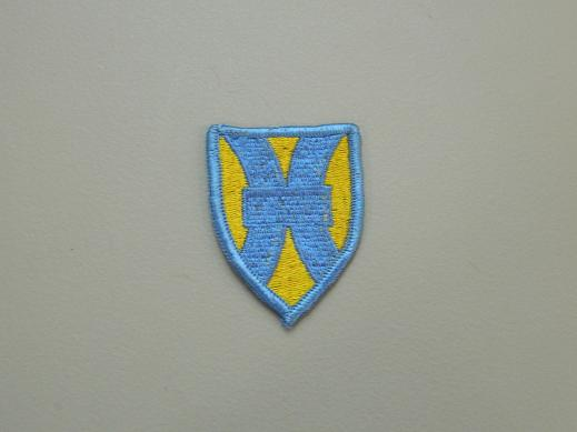 1st Support Brigade Color Patch
