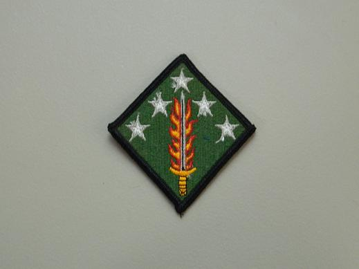 20th Support Command Color Patch