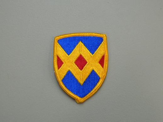23rd. Field Army Support Brigade Color Patch