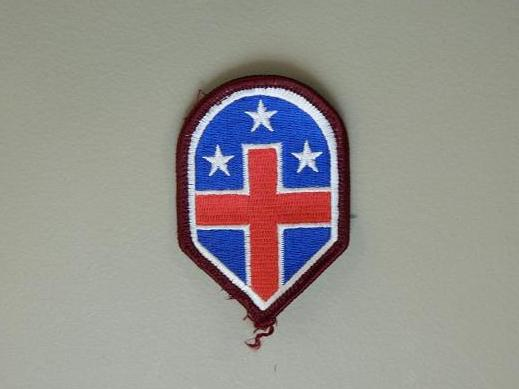 332nd Medical Brigade Color Patch