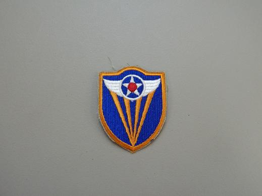 4th Army Air Force Color Patch- No Pigtail