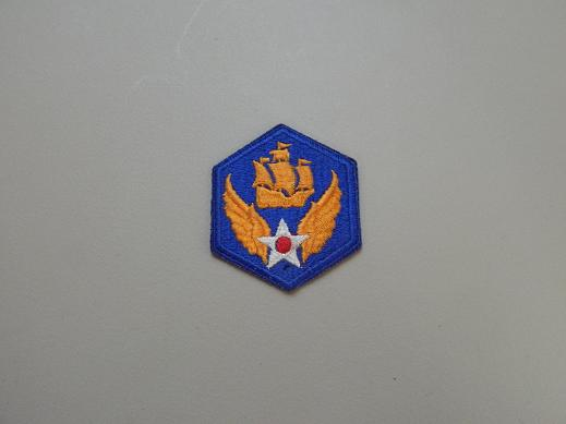 6th Army Air Force Color Patch- No Pigtail