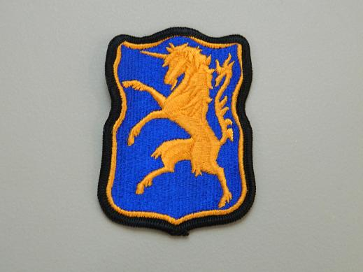 6th Armored Cavalry Regiment Color Patch