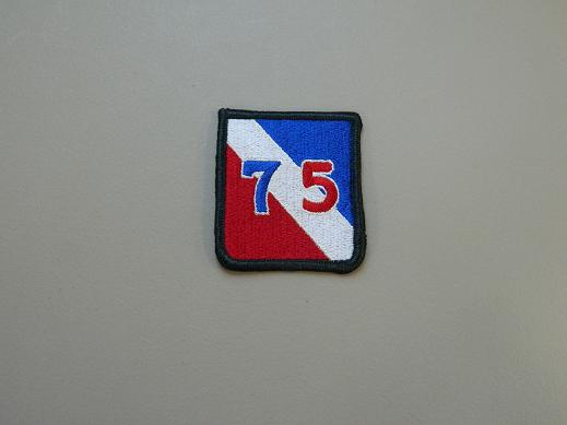 75th Inf. Div. Color Patch- Current