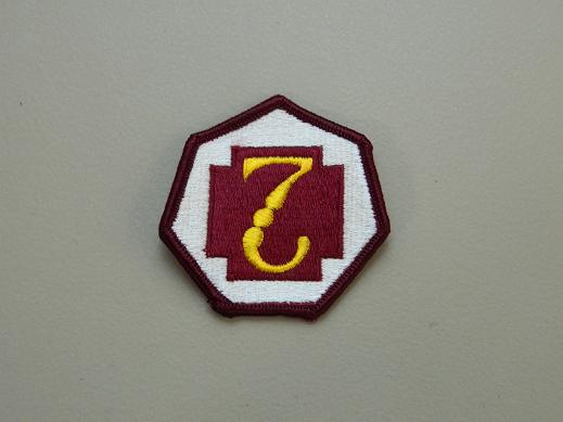 7th Medical Command Color Patch