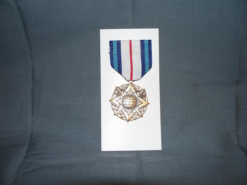 Defense Intell. Agency Civilian Combat Support Medal- Full Size