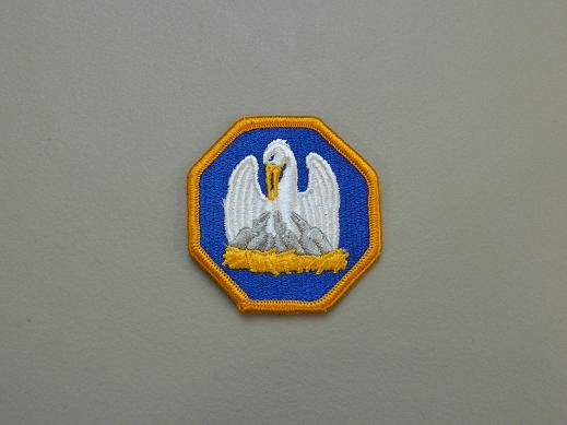 Louisiana Nat. Guard State HQ Color Patch
