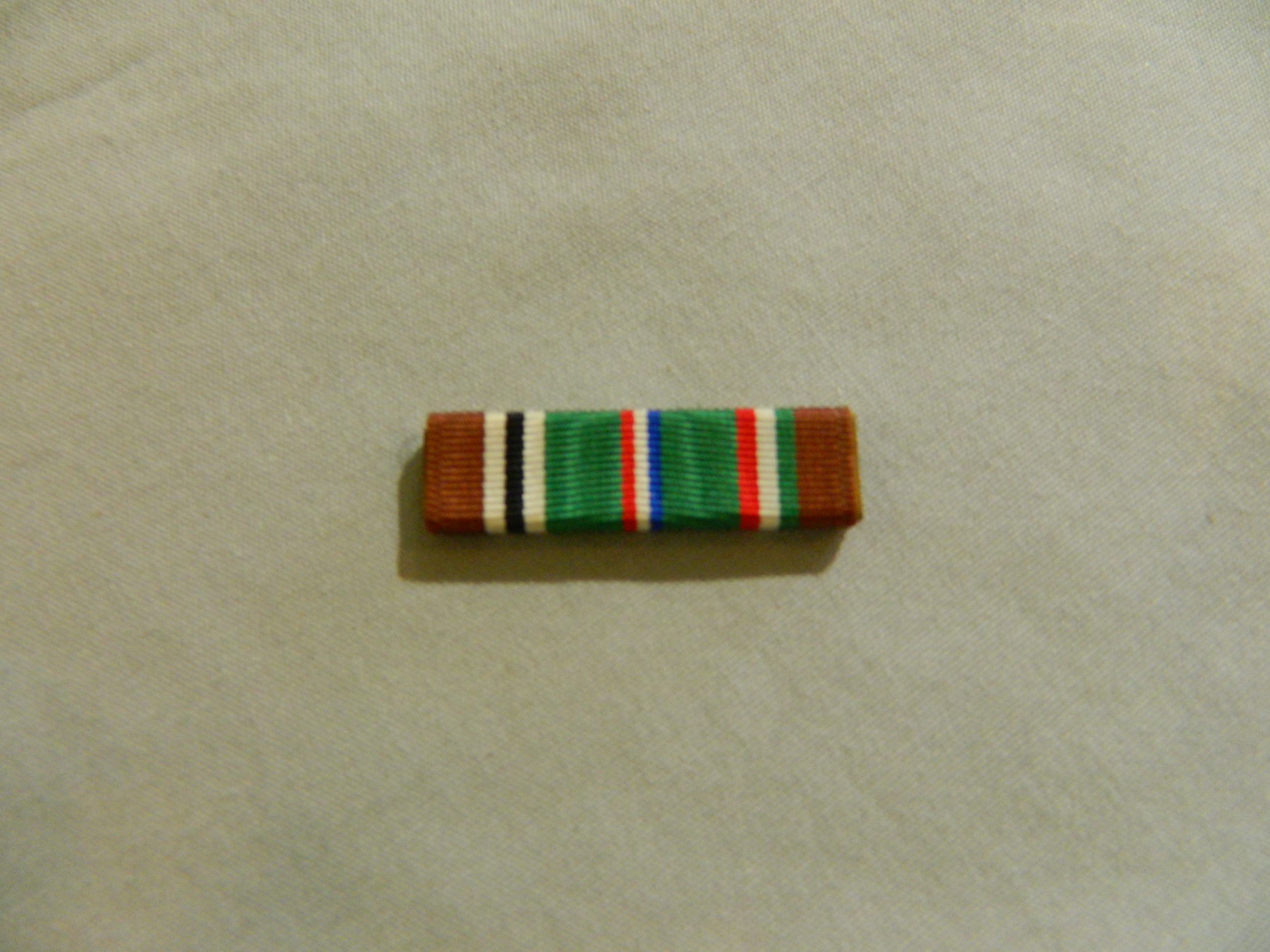 Ribbon: Euro-African-Mid Eastern Campaign Medal