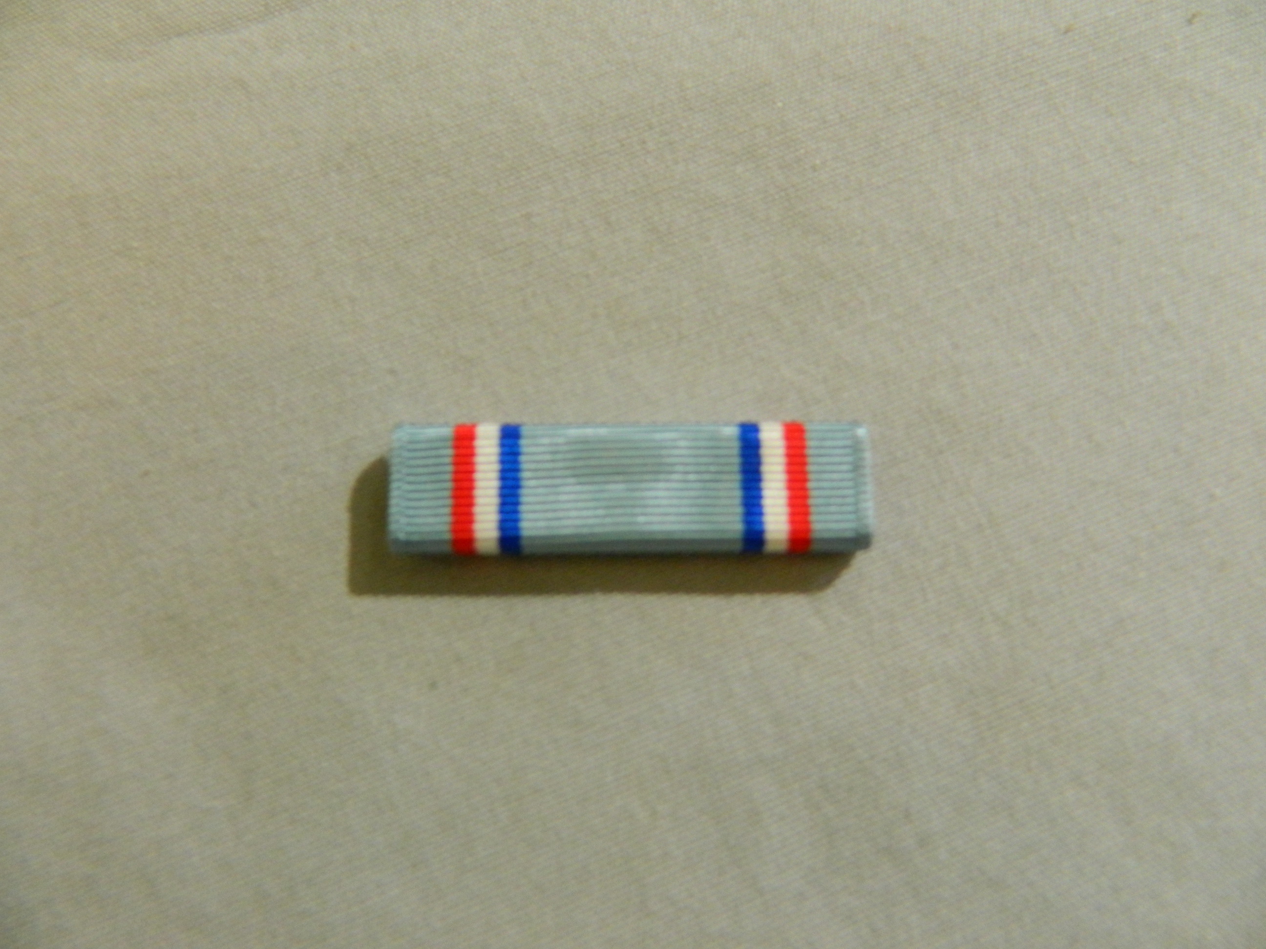 Ribbon: Air Force Good Conduct Medal