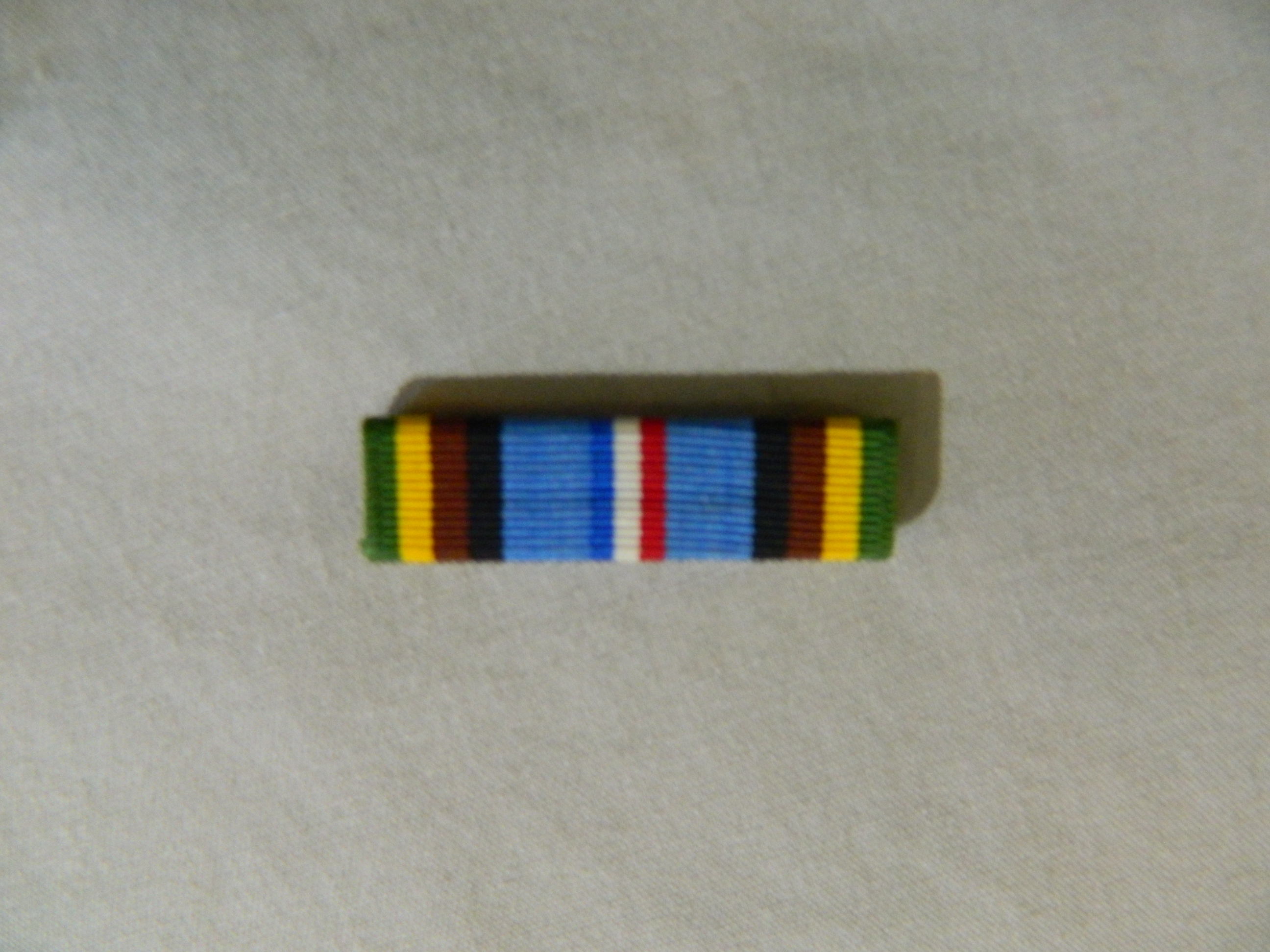 Ribbon: Armed Forces Expeditionary Medal