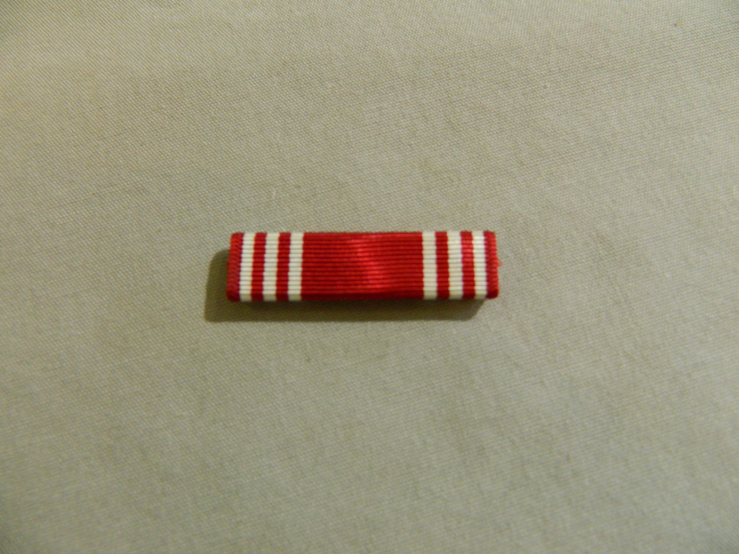 Ribbon: Army Good Conduct