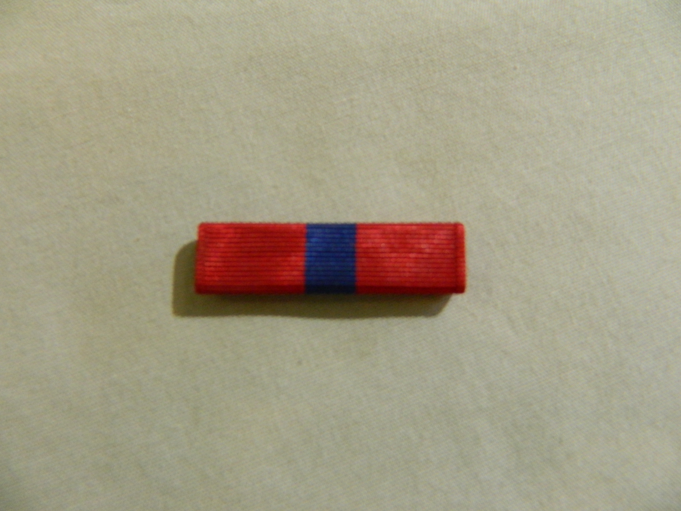 Ribbon: Marine Corps Good Conduct Medal