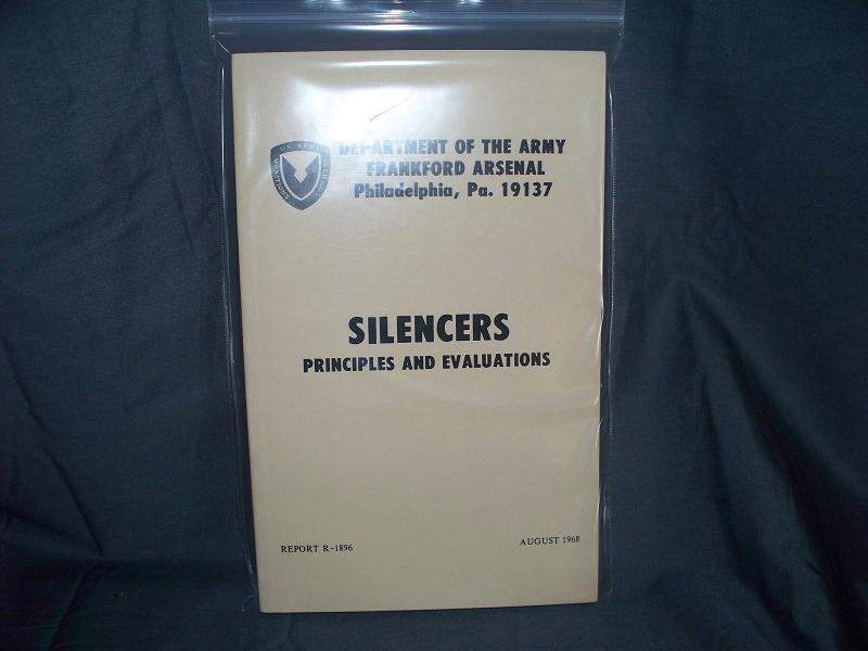 Silencers: Principles And Evaluations