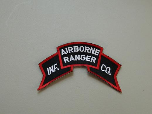 Airborne Ranger Inf. Co. Color Scroll