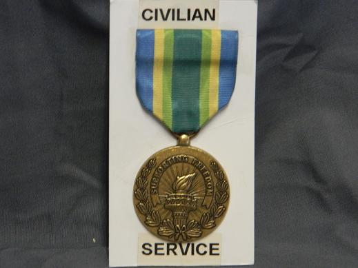 Armed Forces Civilian Service Medal- Full Size