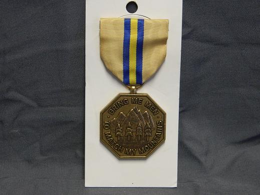 California National Guard Commendation Medal- Full Size