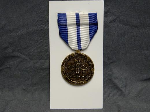 Colorado National Guard Meritorious Service Medal- Full Size