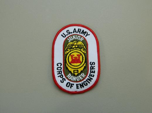US Army Corps of Engineers Junior Ranger Color Patch