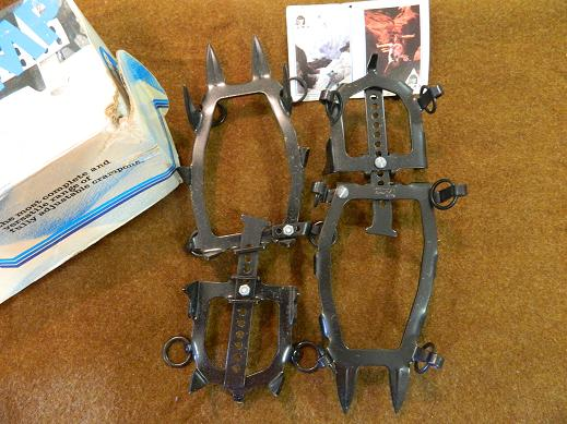 Crampons, Hinged, Made by Camp- New
