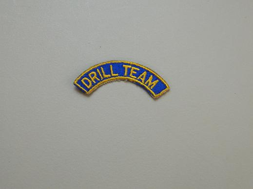 Drill Team Tab- Color Blue/Gold