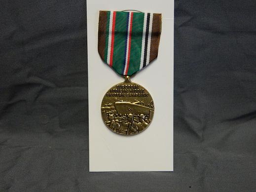 European, African- MidEast Campaign Medal- Full Size
