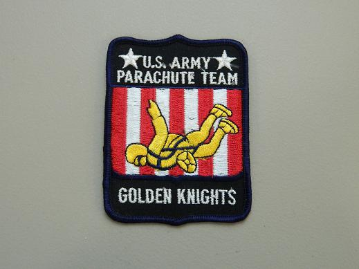 Golden Knights- US Army Parachute Team Color Patch