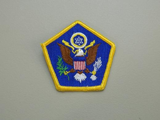 U.S. Army HQ Cmd. Color Patch