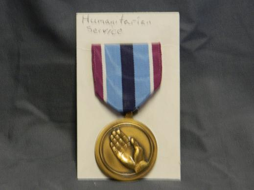 Humanitarian Service Medal- Full Size