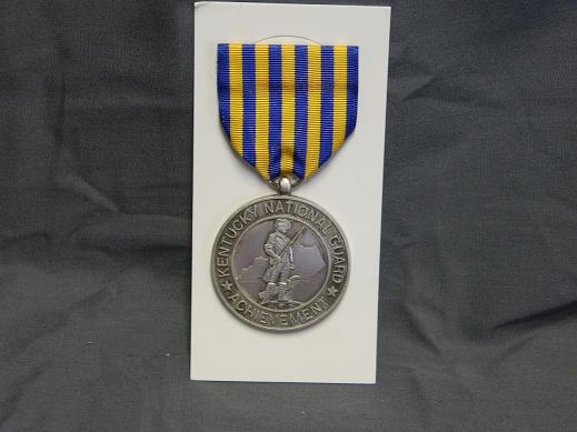 Kentucky National Guard JROTC Distinguished Cadet Medal- Full Si