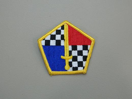 Military Entance Processing Command Color Patch