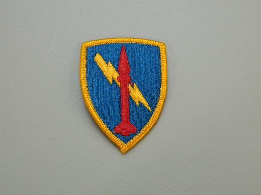 3rd Missile Command Color Patch