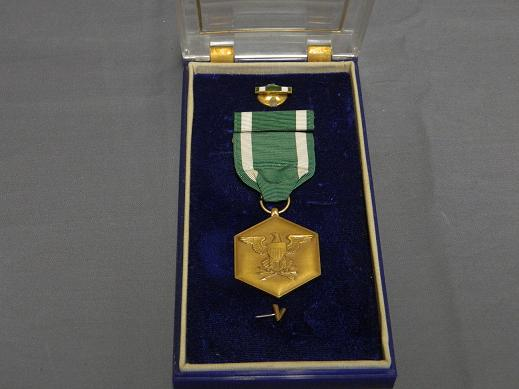 Navy USMC Commendation Medal- Full Size - Cased