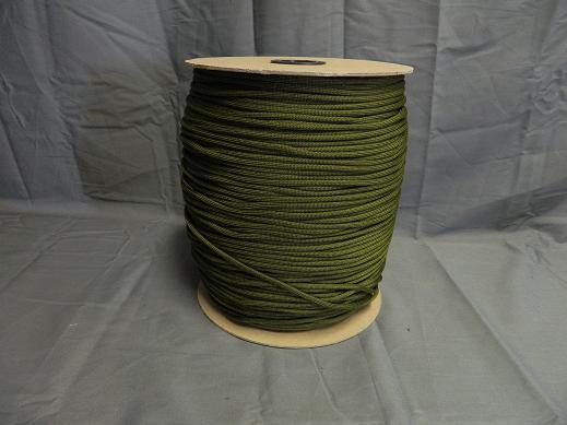 USGI 550 ParaCord- 1,200 Ft. Spool OD Green