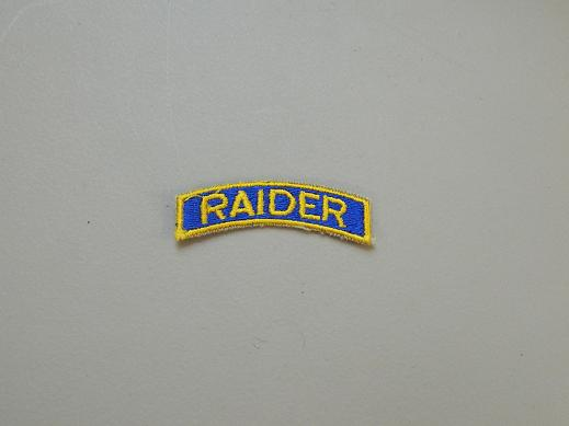 Raider Tab- Color- Blue/Yellow
