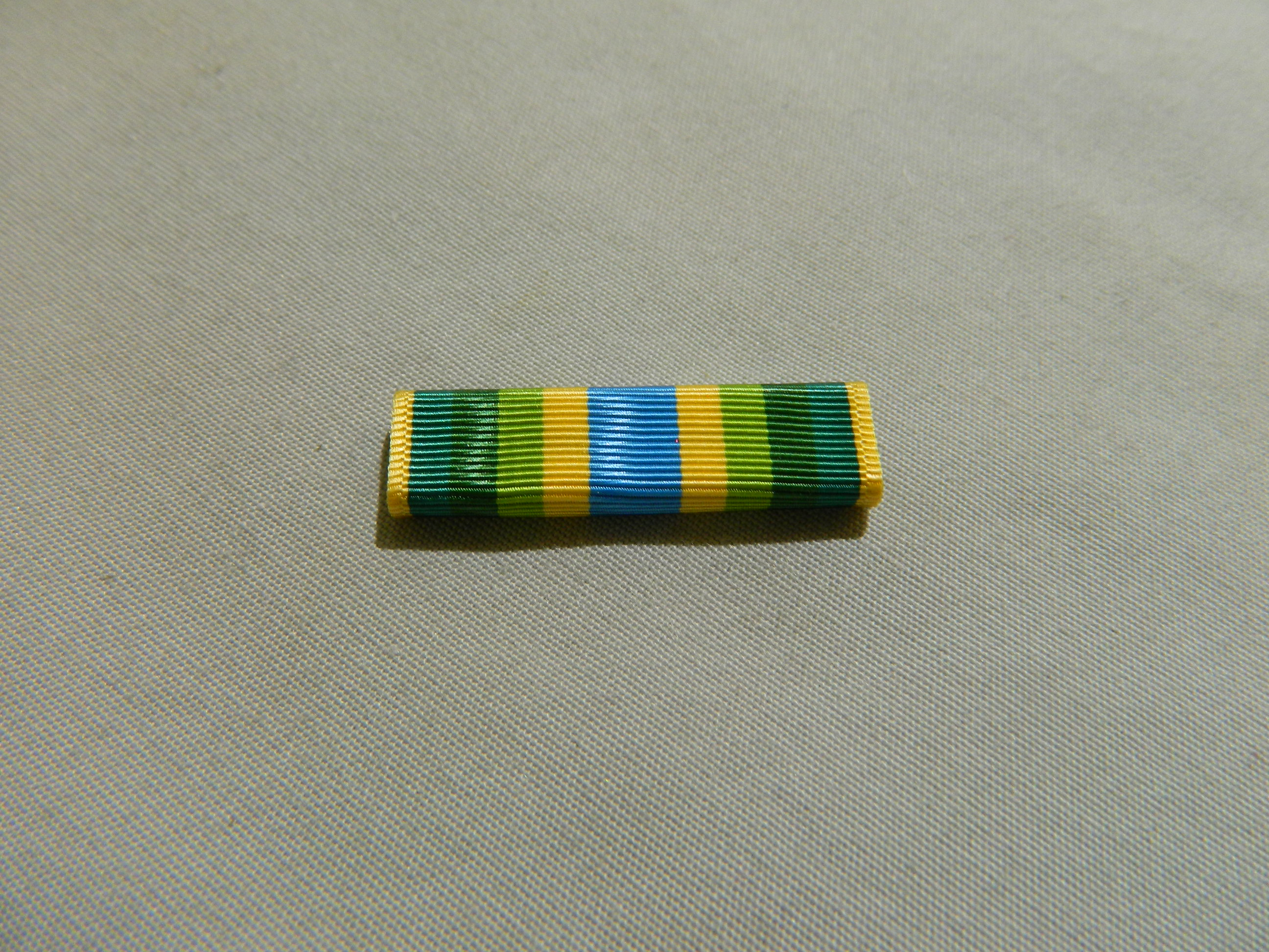 Ribbon: Armed Forces Service Medal