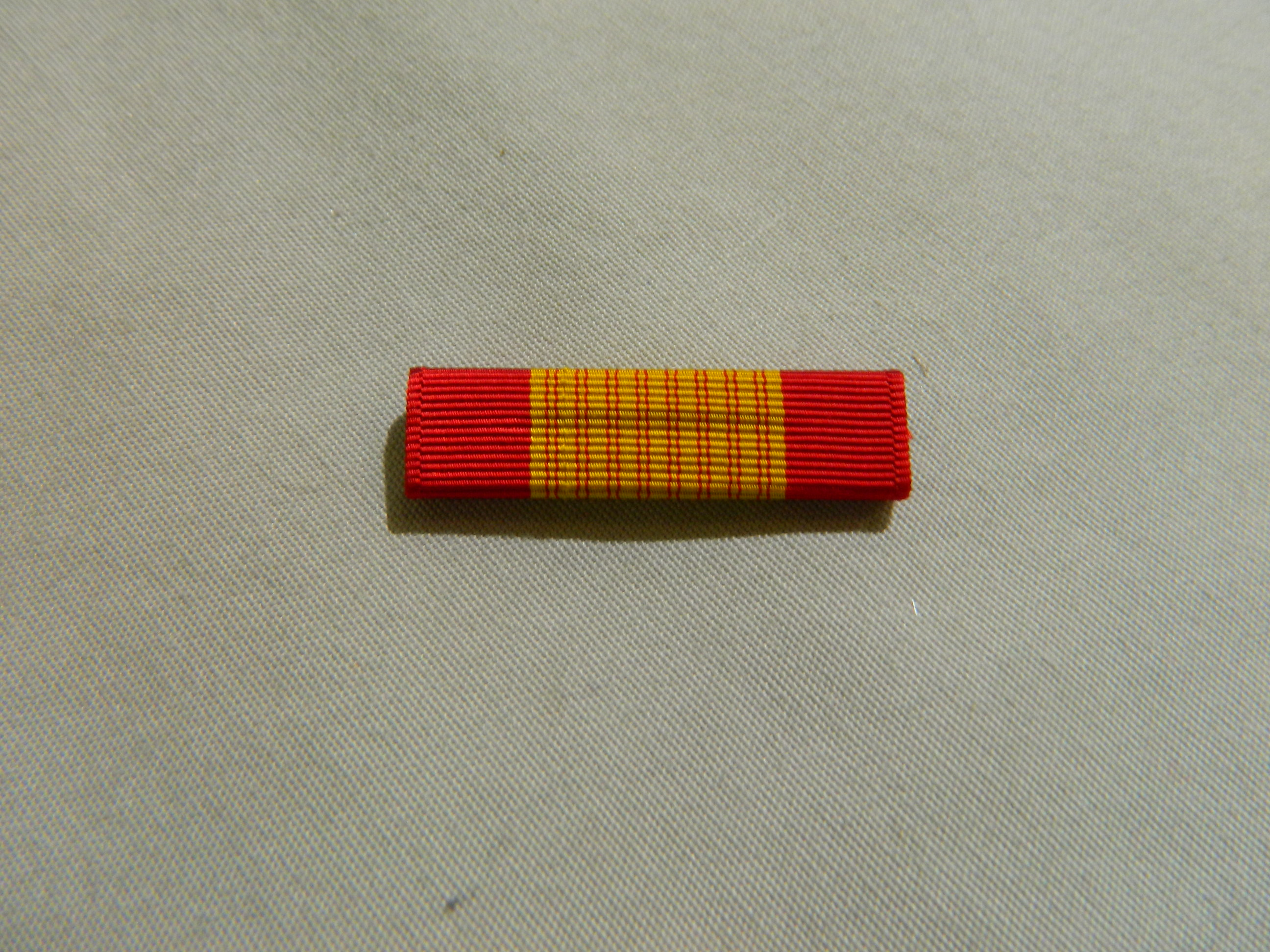 Ribbon: Vietnam Gallantry Cross- NO PALM