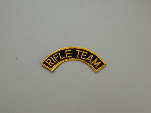 Rifle Team Tab - Color Blk/Gold