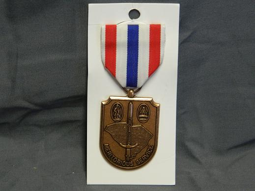 S. Carolina National Guard Meritorious Service Medal- Full Size