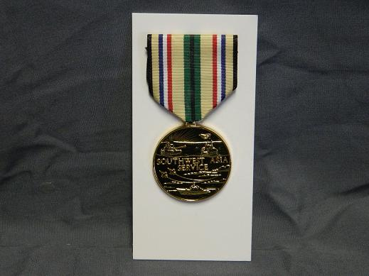 Southwest Asia Service Medal- Full Size - HONOR GUARD