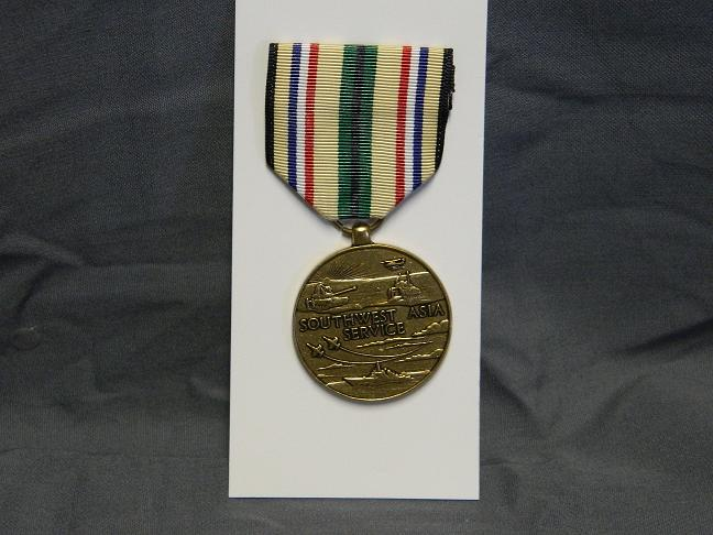 Southwest Asia Service Medal- Full Size