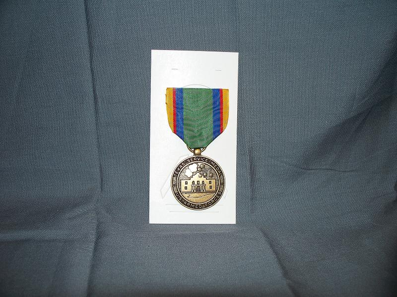 Texas National Guard Federal Service Medal- Full Size