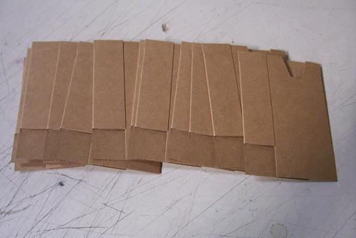 M16/AR15 4 Pocket Cardboards- NEW- 12 Ct.