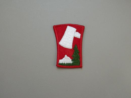 70th Inf. Div. Color Patch