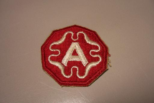 9th Army Color Patch- WW2