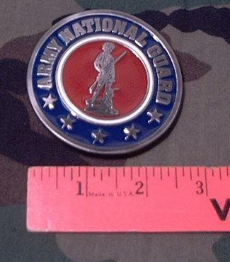 Belt Buckle: Army National Guard
