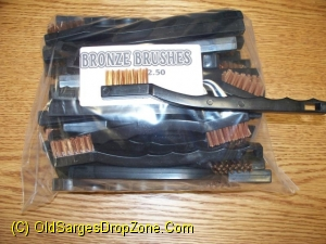 Bronze Brushes 50 Pk